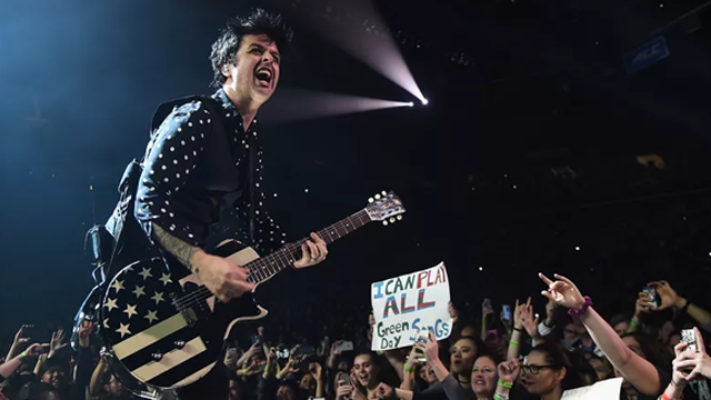 Green Day's American Idiot continues to climb ahead of Trump's United Kingdom  visit