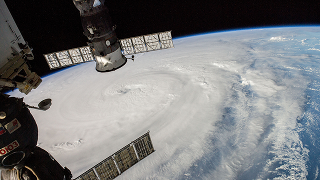One of the Expedition 40 crew members onboard the International Space Station photographed this image of Super Typhoon Neoguri headed toward Japan on July 5, 2014. (NASA)