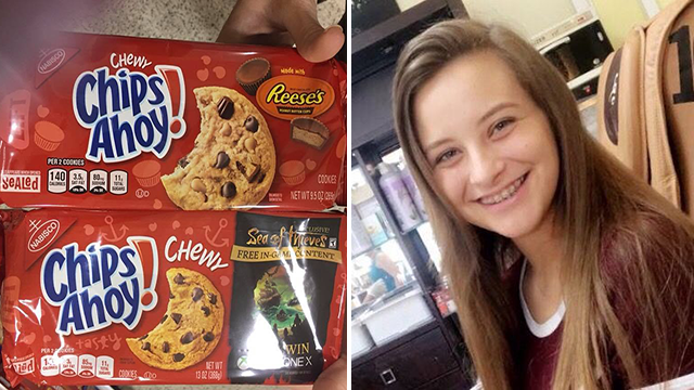 Mom blames teen's death on packaging for peanut cookies