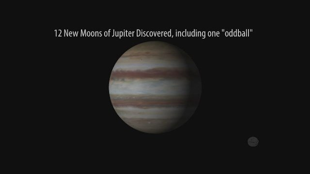 Jupter's new moons