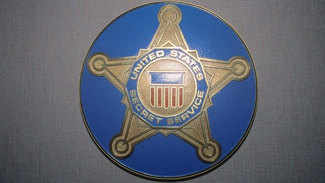 US Secret Service Shield (Photo by Visions of America/UIG via Getty Images)