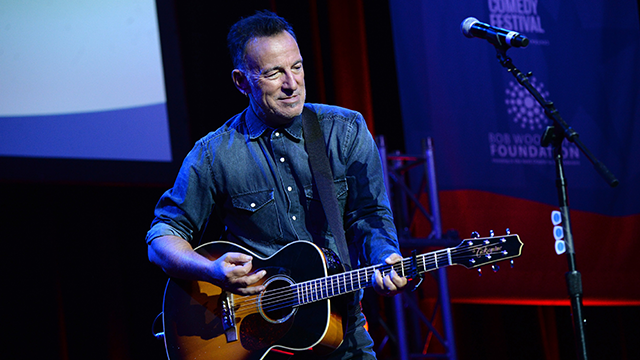 "The streaming service announced on Wednesday that recent Tony winner ""Springsteen on Broadway"" will be coming to Netflix. (Kevin Mazur/Getty Images)"