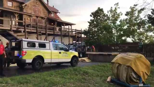 Several people are dead after a tourist boat overturned and sank in a lake near Branson Missouri during a thunderstorm