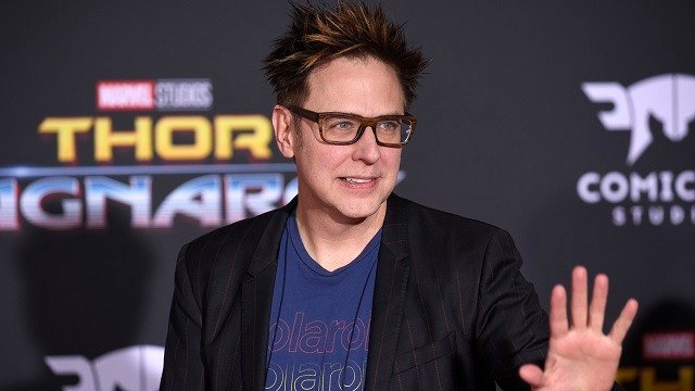 "James Gunn arrives at the world premiere of ""Thor: Ragnarok"" at the El Capitan Theatre on Tuesday, Oct. 10, 2017, in Los Angeles. (Photo by Chris Pizzello/Invision/AP)"