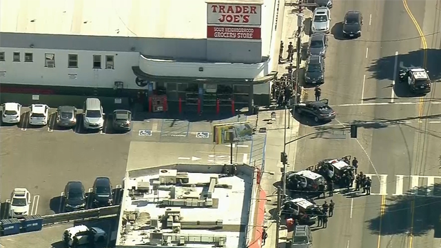 Los Angeles police report possible hostage situation at Trader Joe's