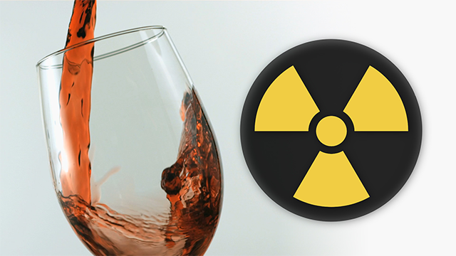 Your favorite California wine may contain radioactive particles - from Japan
