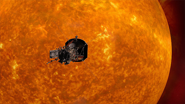 NASA's Solar Probe Plus mission will set off to explore the sun's atmosphere in summer 2018. (Johns Hopkins University Applied Physics Laboratory/NASA)