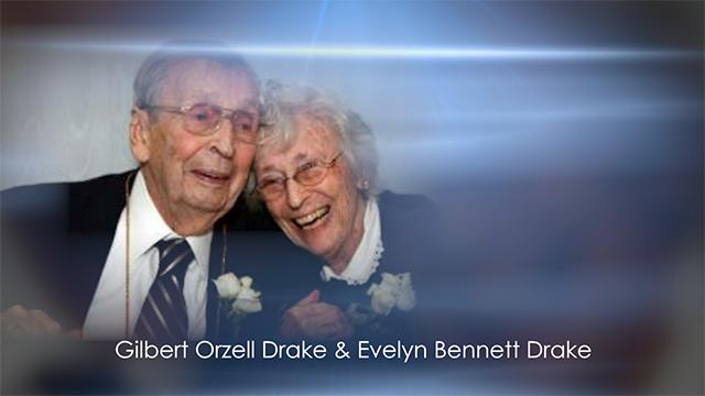 Gilbert Orzell Drake & Evelyn Bennett Drake (Twitter)