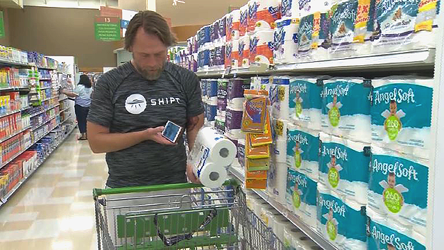 Teacher quits job, now paid $100000 to shop for groceries