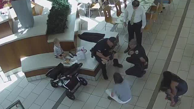 Dramatic video shows Florida officer saving choking baby