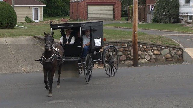 Amish man starts