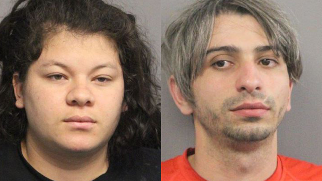 This photo shows 21-year-old Jennifer Avila (left) and 29-year-old Fernando DaRocha (right). (Photo Credit: Gretna Police Department)
