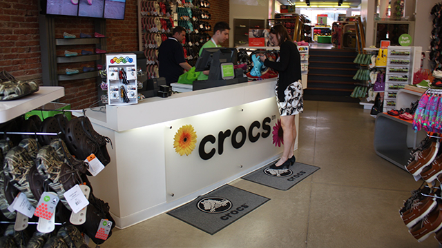 Crocs are hot again thanks to big changes to the business. (Jim Spellman/CNN)