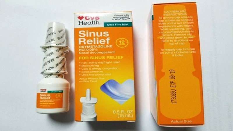 Bottles of CVS 12 Hour Sinus Relief Nasal Mist are being recalled nationwide. (FDA)