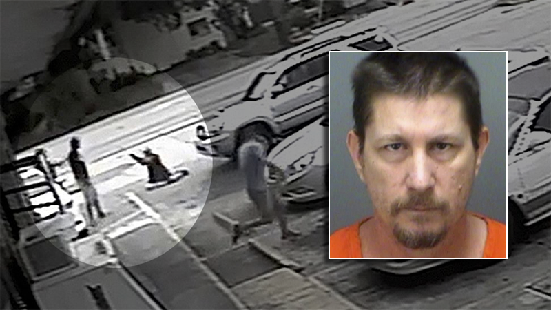 Michael Drejka was charged with manslaughter Monday in the July 19 death of unarmed black man Markeis McGlockton outside a Clearwater convenience store. (Pinellas, Fla., County Sheriff's Office via AP)