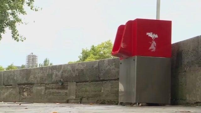Eco-friendly open-air urinals
