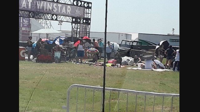 14 fans at Backstreet Boys concert hurt when structure collapses during storm