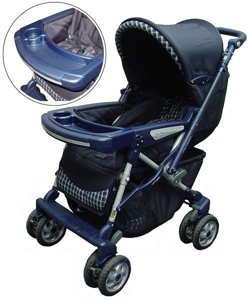The U.S. Consumer Product Safety Commission announced a voluntary recall of 223,000 popular strollers following the death of an infant eight years ago and the near strangulation of another in 2006.
