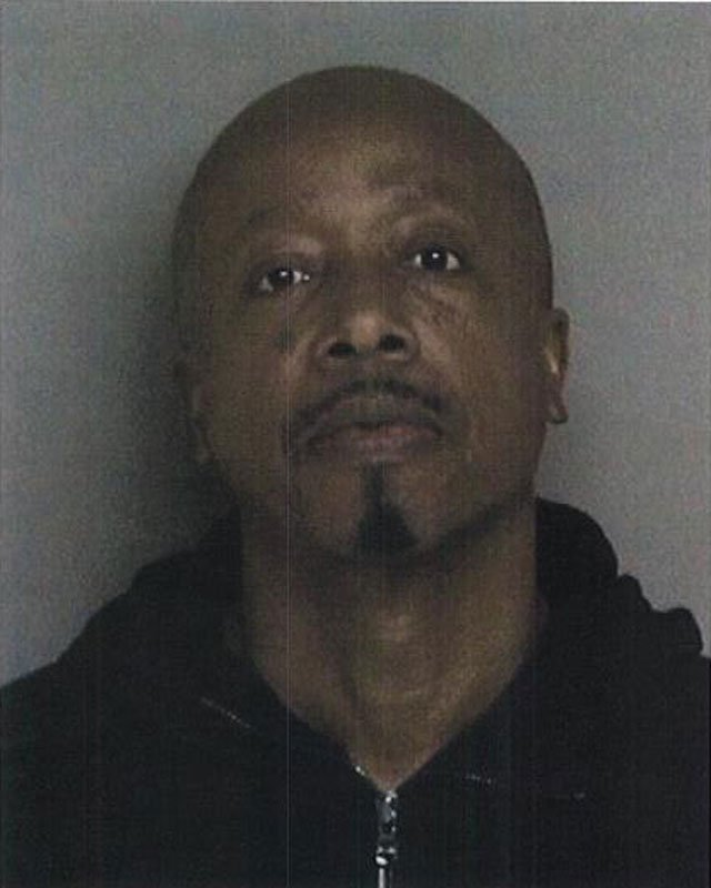 Mug shot of MC Hammer released by Dublin Police Department in February 2013