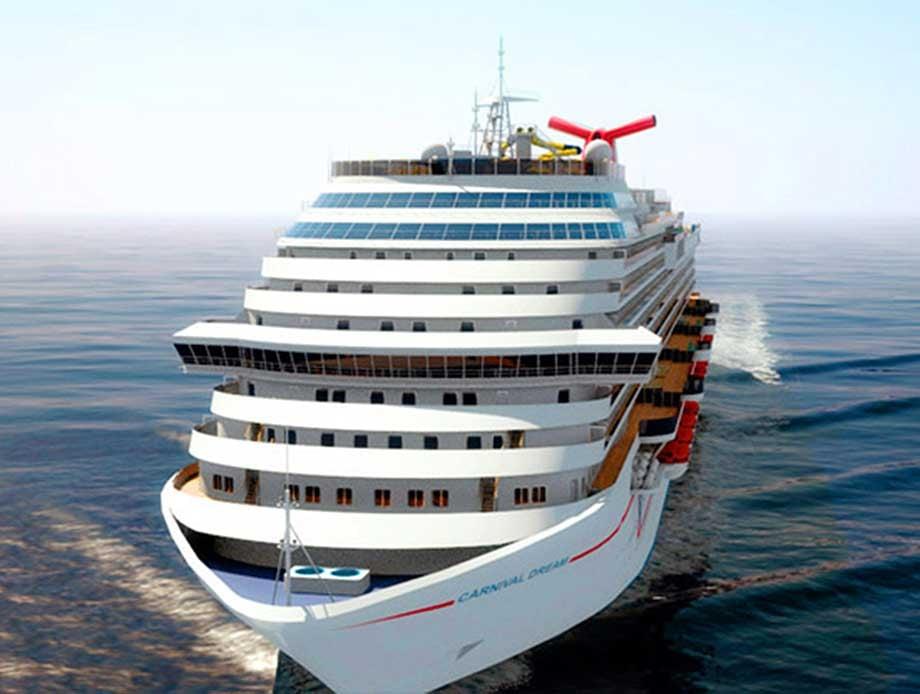"""File photo of Carnival ship named """"Dream.""""  (Source: Carnival)"""