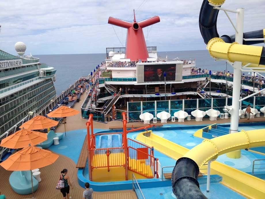 Carnival Dream docks in St. Maarten. (Source: Kris Anderson/WREG)