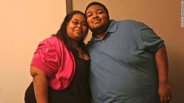 Two years ago, Angela and Willie Gillis decided they were ready for a healthier lifestyle. Through diet changes and daily exercise they lost a combined 500 pounds. (CNN)