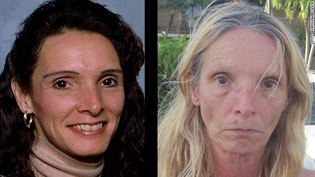 Brenda Heist, 54, turned herself into authorities in Key Largo, Florida on Friday, informing them that she thought she might be wanted in another county.