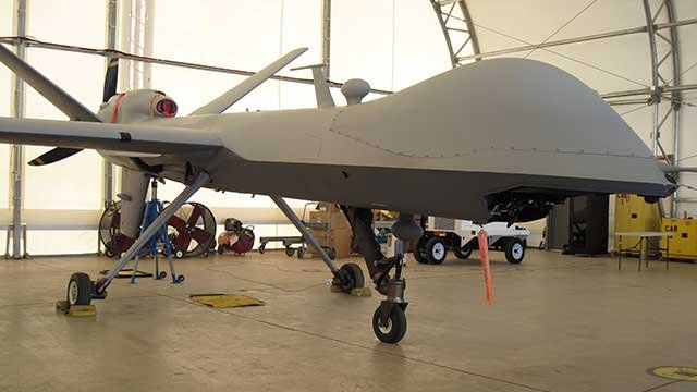 Unmanned U.S. Drone