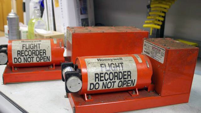 Both flight data recorders have been recovered, the National Transportation Safety Board said, from wreckage left by Saturday's tragedy that left two 16-year-old passengers dead. (NTSB)