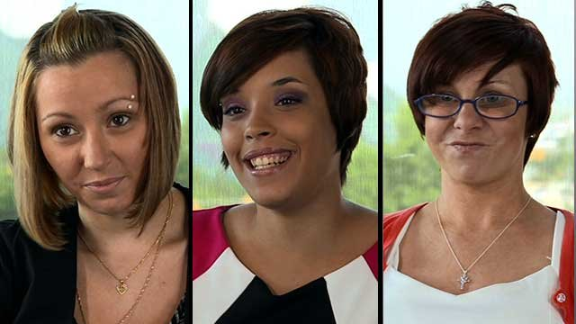 From left to right: Kidnapping victims Amanda Berry, Gina DeJesus and Michelle Knight