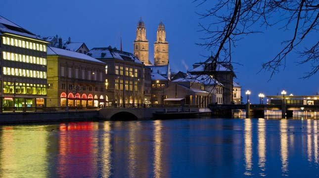 Switzerland may be one of the world's happiest countries, but  Zurich was also recently named the world's most expensive city.