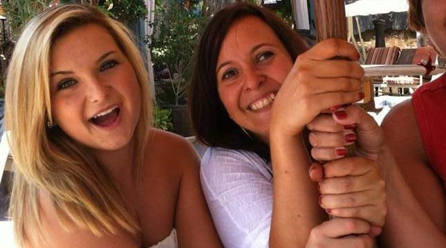Hannah Anderson is pictured with her mother Christina.