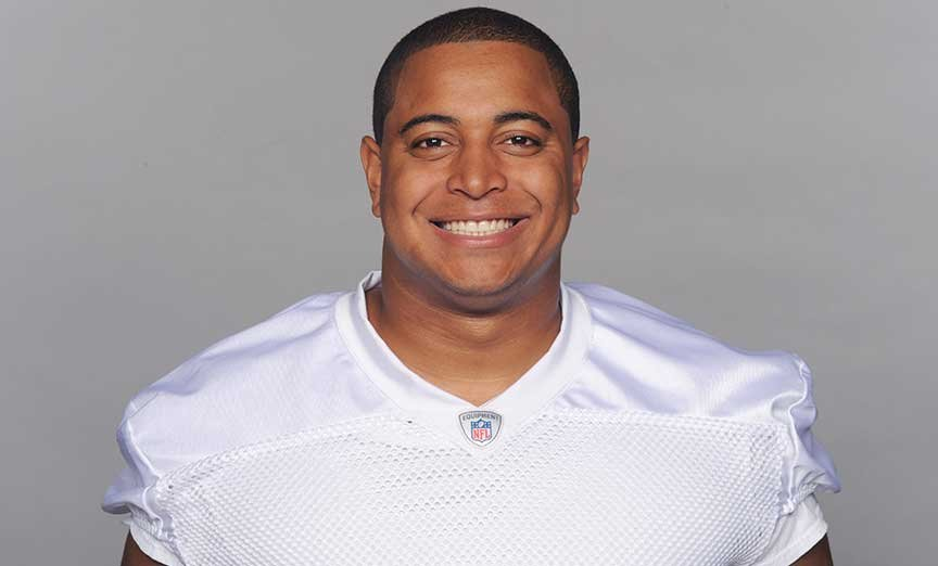 This is a 2013 photo of Jonathan Martin of the Miami Dolphins NFL football team.
