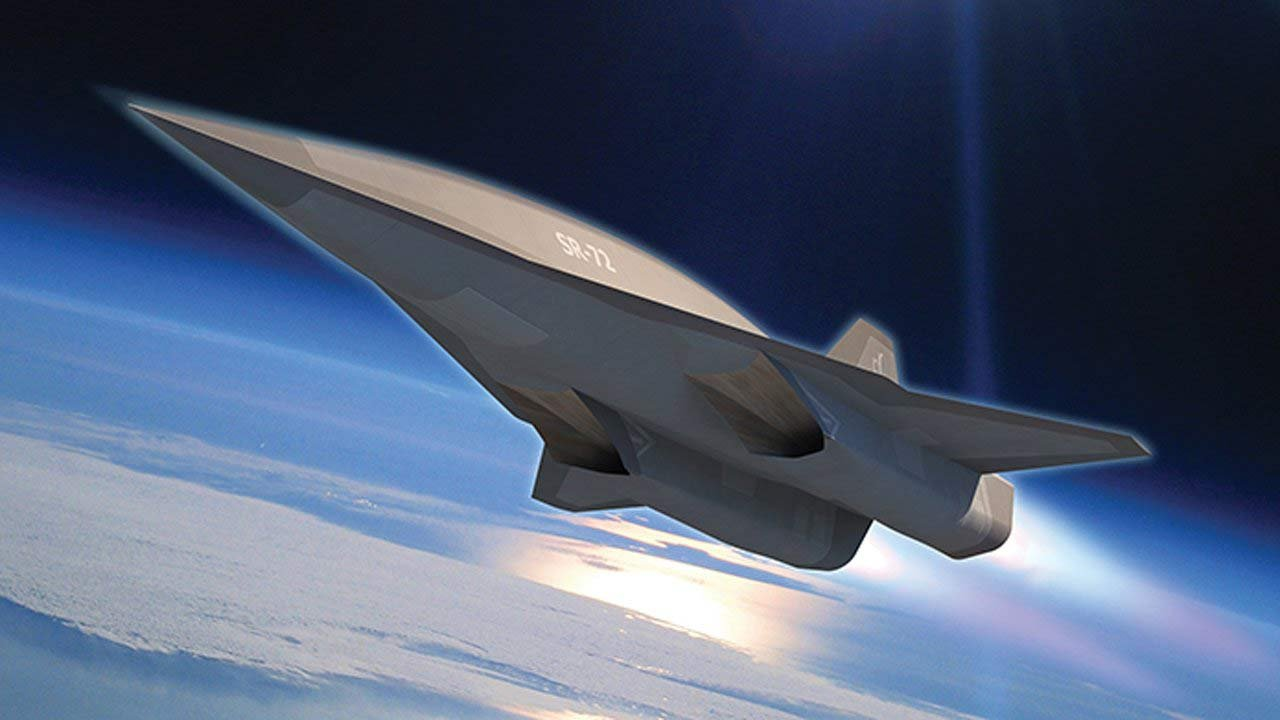 """Lockheed-Martin, the maker of the SR-71, says the """"Son of the Blackbird,"""" the SR-72, is in the works, and it will be twice as fast as and way more lethal than its father. That's because the SR-72 will be designed to launch missiles, something the SR-71"""