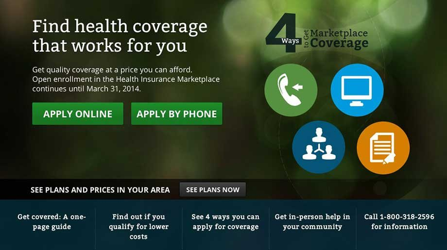 "An image of a young woman who became known as the ""Obamacare girl"" is no longer on the homepage of the federal government's health care site."