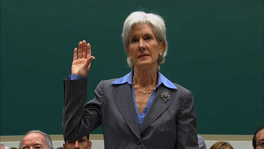 n Wedenesday, October 30, 2013, Health Secretary Kathleen Sebelius testified before a House Energy and Commerce Committee.