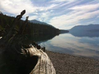 Lake McDonald in Glacier National Park where Cody Johnson was allegedly murdered by his new wife.