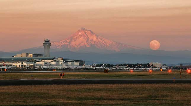 Travel+Leisure's 2013 list of best and worst airports in the United States rated Portland International Airport  the nation's best. (Photo: Port of Portland)