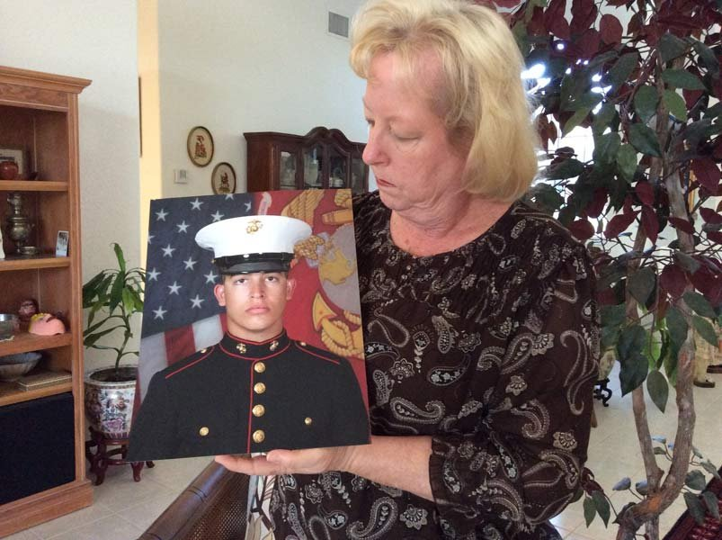 Mother of Sgt. Andrew Tahmooressi