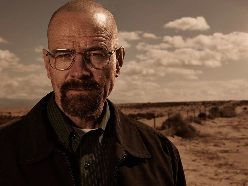 Walter White (Bryan Cranston) in AMC's Breaking Bad