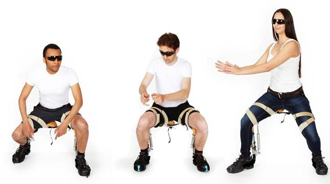 The team behind the Chairless Chair is a Zurich-based startup called noonee.