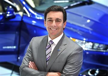 Caption: Mark Fields is the COO of Ford Motor Company. Ford announced Monday, April 21, 2014, that Fields will succeed the current CEO Alan Mulally. A timeline for the transition has not been set.