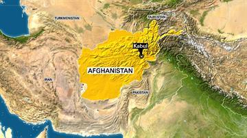 Caption: Map of Afghanistan highlighting Kabul