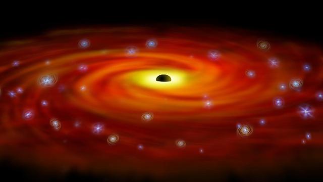 Black hole taking over decade to devour star - FOX Carolina 21