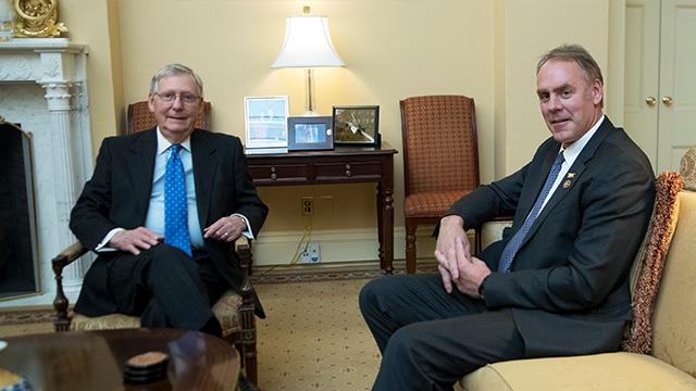 Senate confirms Zinke as Interior secretary adding to Trumps c