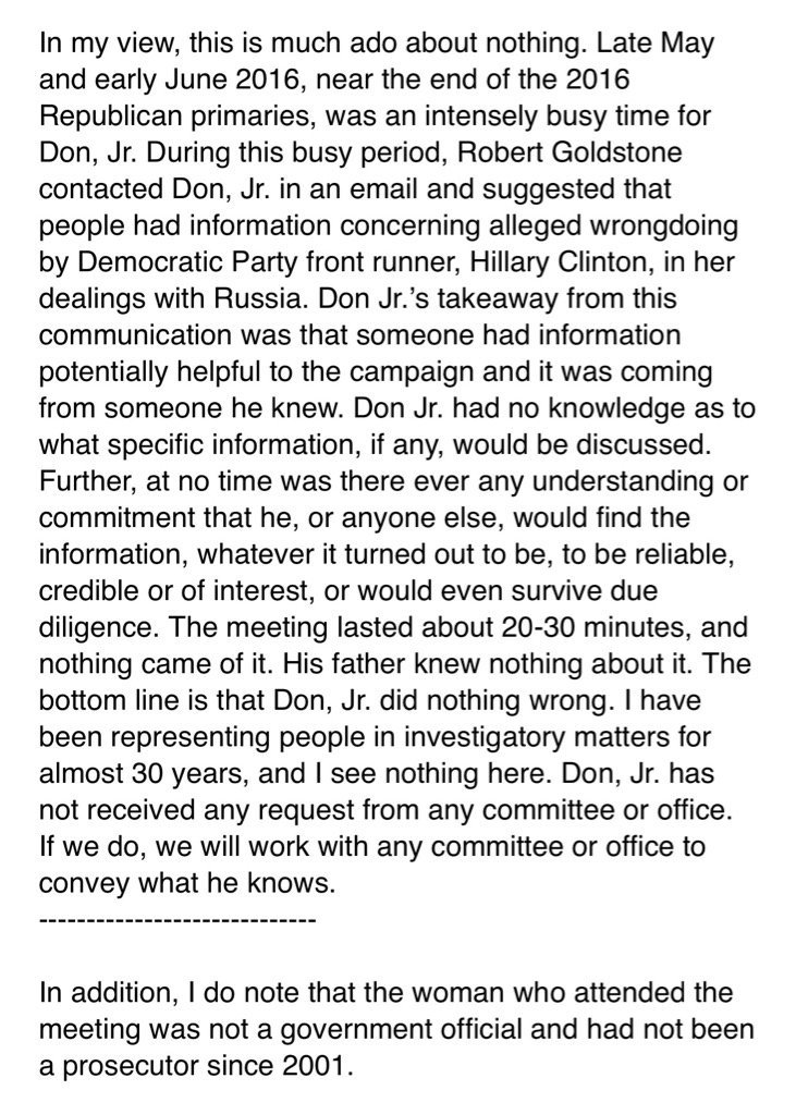 donald trump thesis statement By trump's own account, he asked comey about his investigative status even as he was conducting the equivalent of a job interview in which comey sought to retain his position as director.