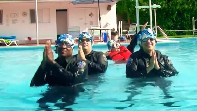 Watch Virginia Cops Make A Splash With Synchronized Swim Routin Wsmv News 4