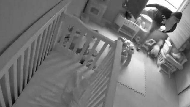 baby monitor captures thief burglarizing home fox5 vegas kvvu. Black Bedroom Furniture Sets. Home Design Ideas