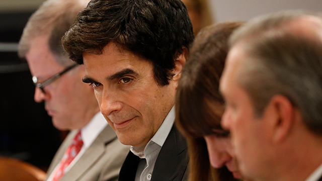David copperfields vanishing act revealed in court amid lawsuit illusionist david copperfield appears in court tuesday april 17 2018 in las m4hsunfo