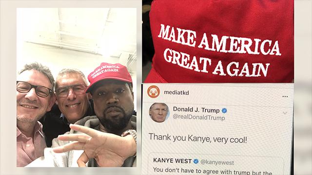 Image result for kanye west twitter trump